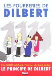 Les Fourberies De Dilbert - Couverture - Format classique