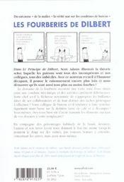 Les Fourberies De Dilbert - 4ème de couverture - Format classique