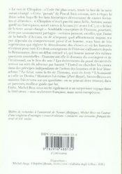 Le nez de cléopâtre ; sainte-beuve et la philosophie de l'histoire - 4ème de couverture - Format classique
