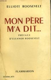Mon Pere M'A Dit.... . - Couverture - Format classique