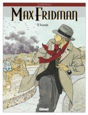 Max fridman t.3 ; no pasaran - Couverture - Format classique