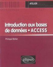 Introduction aux bases de données, access - Intérieur - Format classique
