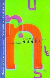 Emmanuel Nunes - Intérieur - Format classique