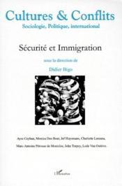 Revue Cultures & Conflits ; Sécurité Et Immigration - Couverture - Format classique