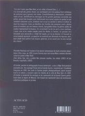 Les Etoiles A L'Envers ; New York, Photoroman - 4ème de couverture - Format classique