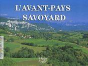 L'avant-pays savoyard - Couverture - Format classique