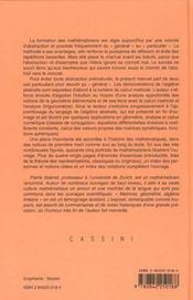Matrices ; geometrie ; algebre ; lineaire - 4ème de couverture - Format classique