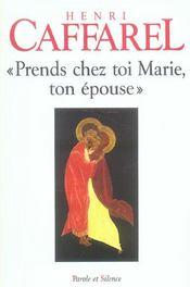 Prends Chez Toi Marie Ton Epouse - Intérieur - Format classique