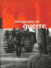 Photographies de guerre - Couverture - Format classique