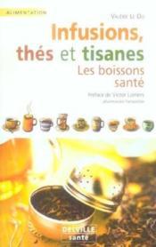 Infusions, Thes Et Tisanes - Couverture - Format classique
