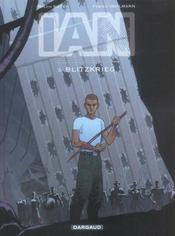 Ian T.3 ; Blitzkrieg - Intérieur - Format classique