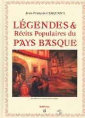 Légendes et récits populaires du pays basque - Couverture - Format classique