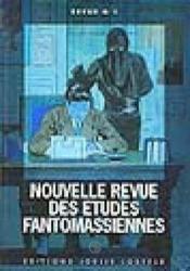 Nouvelle revue des etudes fantomassiennes - Couverture - Format classique
