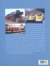 Encyclopedie Du Train T.1 ; Locomotives Et Automotrices - 4ème de couverture - Format classique