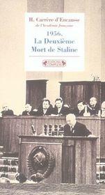 1956, la deuxieme mort de staline - Intérieur - Format classique