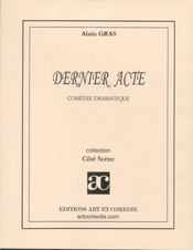 Dernier acte - Intérieur - Format classique