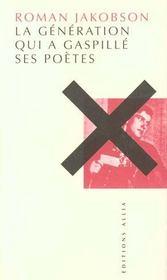 Generation Qui A Gaspille Ses Poetes (La) - Intérieur - Format classique