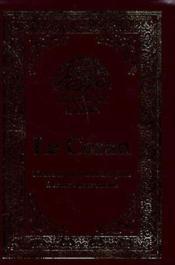 Le noble coran ; bilingue arabe-français - Couverture - Format classique
