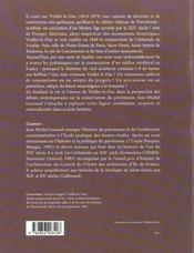 Viollet-Le-Duc Ou Les Delires Du Systeme - 4ème de couverture - Format classique