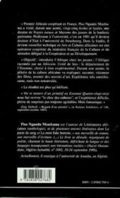 Vie et moeurs d'un primitifen ; Essonne quatre vingt .. - 4ème de couverture - Format classique