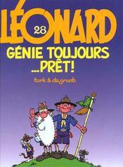 Leonard t.28 ; genie toujours ....pret - Intérieur - Format classique