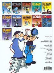 Leonard t.28 ; genie toujours ....pret - 4ème de couverture - Format classique