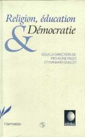 Religion Education Et Democratie - Couverture - Format classique