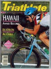 Triathlete N°73 du 01/12/1992 - Couverture - Format classique