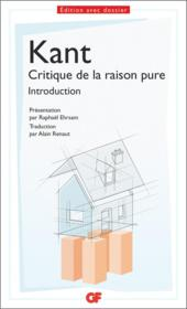 Vente  Critique de la raison pure ; introduction  - Immanuel Kant - Kant - Emmanuel Kant