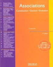 Vente  Association ; constitution gestion evolution ; 9e edition  - Francis Lemeunier