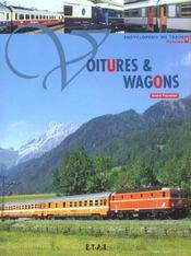 Voitures Et Wagons T.2 - Intérieur - Format classique