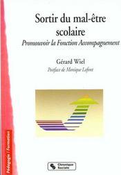 Sortir Du Mal-Etre Scolaire - Intérieur - Format classique