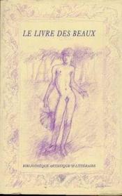Livre Des Beaux (Le) - Couverture - Format classique