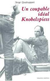 Un coupable idéal knobelspiess - Couverture - Format classique