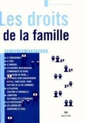 Droits de la famille - Couverture - Format classique
