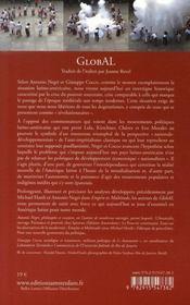 Global ; luttes et biopouvoir à l'heure de la mondialisation : le cas exemplaire de l'amérique latine - 4ème de couverture - Format classique