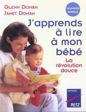 J'Apprends A Lire A Mon Bebe - Intérieur - Format classique