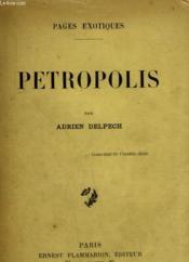 Petropolis. - Couverture - Format classique