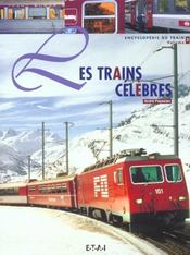 Trains Celebres T.3 - Intérieur - Format classique