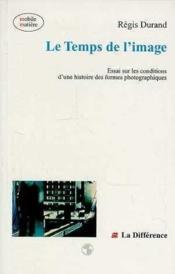 Temps De L'Image (Le ) - Couverture - Format classique