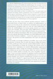 Systemes Dynamiques Une Introduction - 4ème de couverture - Format classique