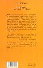 Les noceurs, une histoire edifiante - 4ème de couverture - Format classique