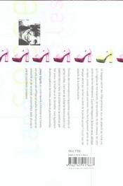 Le Langage Secret Des Filles - 4ème de couverture - Format classique