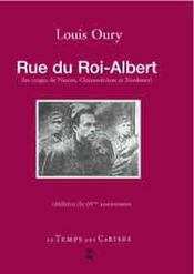 Rue du roi-Albert ; et les 50 otages de Nantes et de Chateaubriand - Intérieur - Format classique