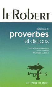 Dictionnaire des proverbes et dictons - Intérieur - Format classique