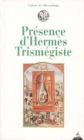 Présence d'hermès Trismégiste - Couverture - Format classique