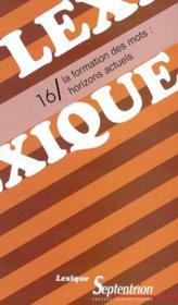 Revue Lexique T.16 - Couverture - Format classique