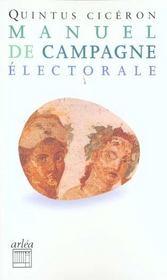 Manuel de campagne électorale - Intérieur - Format classique