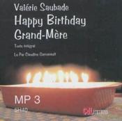 Happy birthday grand-mère - Couverture - Format classique