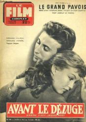 Film Complet N° 476 - Avant Le Deluge - Couverture - Format classique